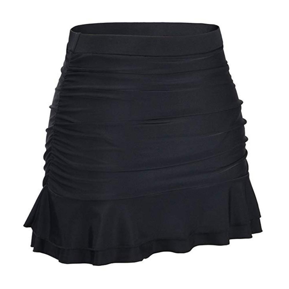 Hot Sale High Waist Bikini Bottoms Women Swimsuit Ruffle Swim Skirt Bottoms LC410780 Bas De Maillot De Bain Pour Femme6.76