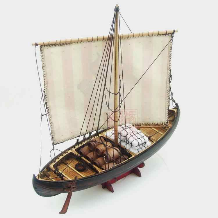 NIDALE model Sacle 1/72 Northern Europe Classic wooden sail boat kit Viking ships wooden model