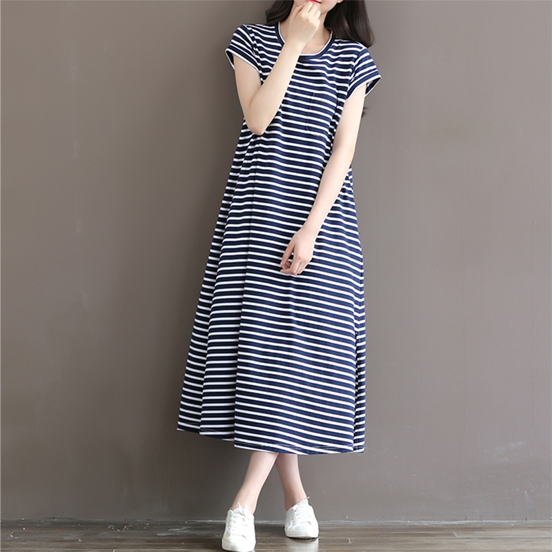 2018 summer maternity clothes dresses for pregnant women fashion doll collar print cotton linen losse casual pregnancy