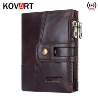 2019 new brand Wallet men leather genuine wallets purse short male clutch leather wallet mens money bag quality guarantee