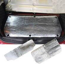 Для Smart 451 Smart 453 Car стекловолокно звукоизоляция защита от замерзания закрытые сотовые пены Автомобильная вытяжка двигатель брандмауэр тепловой коврик