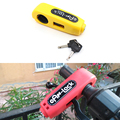 Motorcycle Lock Motorbike Scooter Handlebar Safety Lock Brake Throttle Grip anti theft Protection Security Lock Universal Lock