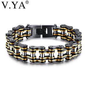 V.YA Punk Stainless Steel Brac
