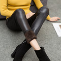 Women Leggings Faux Leather High Quality Slim Leggings Plus Size Elasticity Sexy Pants Leggings XXL Boots Thick Leggings DK04
