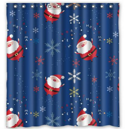 Curtains Ideas christmas curtain fabric : Online Get Cheap Christmas Fabric Shower Curtains -Aliexpress.com ...