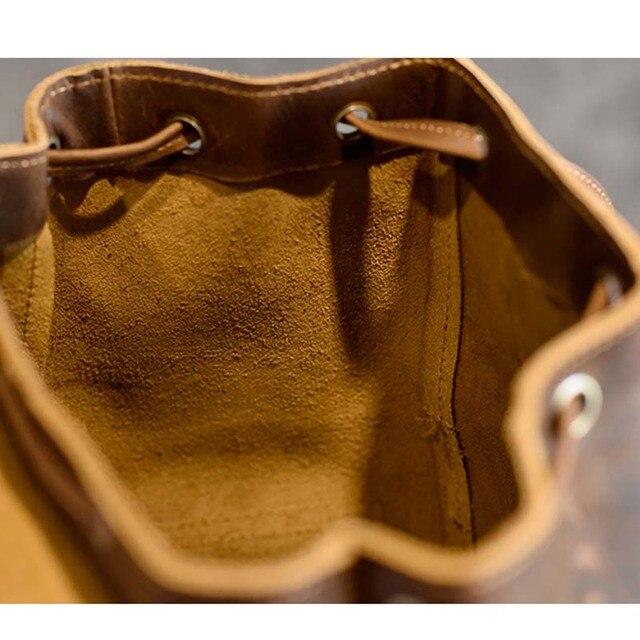 AETOO Original design leather hand bag Europe and the United States trend retro male Baotou crazy