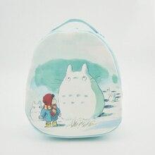 La alta calidad del Anime mi vecino Totoro imprimir Cosplay Lolita moda lona bolsas de hombro Mini mochila