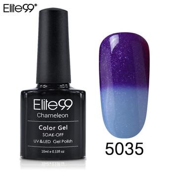 Elite99 100 Farben Thermische Temperatur Ändern Farbe Nagel Gel Tränken Weg UV Chameleon Gel Polish Led Nagellack Gel lack