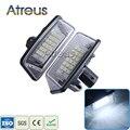 2X Coche LED Luces de la Matrícula 12 V SMD3528 LLEVÓ Matrícula Bombilla de la lámpara Accesorios Kit Para Toyota Corona Corolla Vios Previa S180