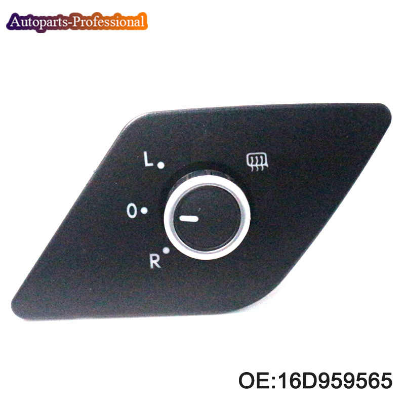 Specchio di Controllo di Calore Fold Interruttore della Manopola Per Volkswagen VW Jetta MK6 2011-2013 16D959565 6 PINS