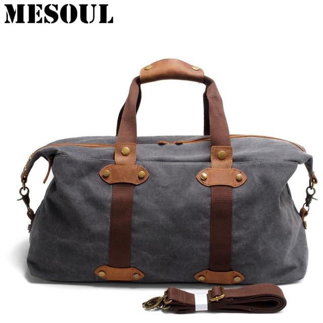 Aliexpress.com : Buy Overnight Weekend Bag Men Travel Totes Large ...