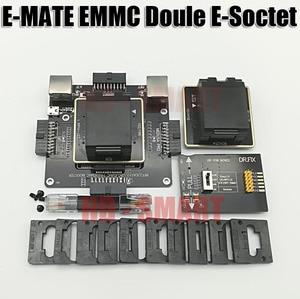 Image 2 - E MATE box Emate box podwójne gniazdo e socket BGA153,169,162,186,221,529,100,136,168,254 UFI box, MEDUSA EASY JTAG BOX