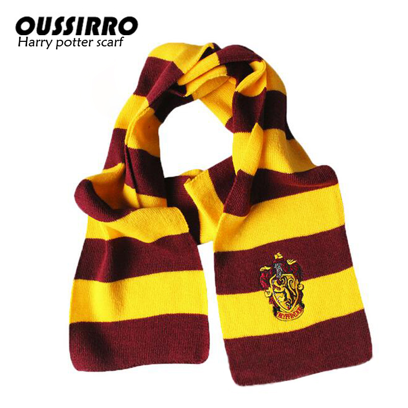 Detail Feedback Questions About Cosplay Costume Harry Scarf Scarves