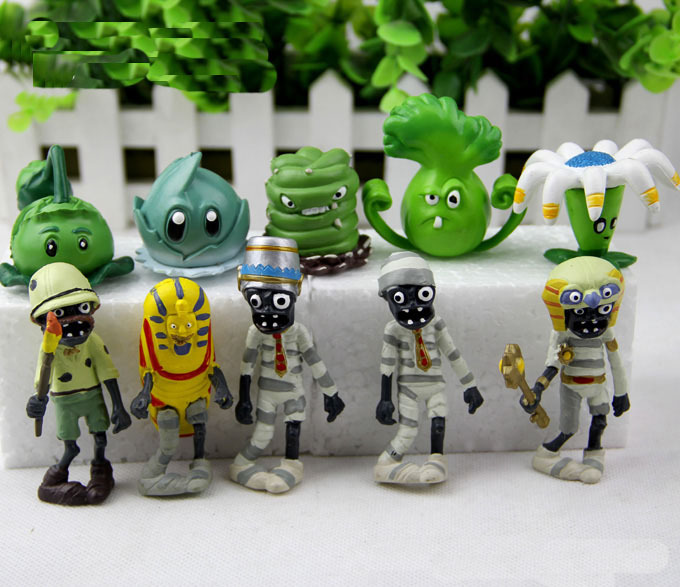 Image 5 - Hot 40Pcs/set Plants vs Zombies PVZ Toy Plants Zombies PVC Action Figures Toy Doll Set for Collection Party Decoration-in Action & Toy Figures from Toys & Hobbies