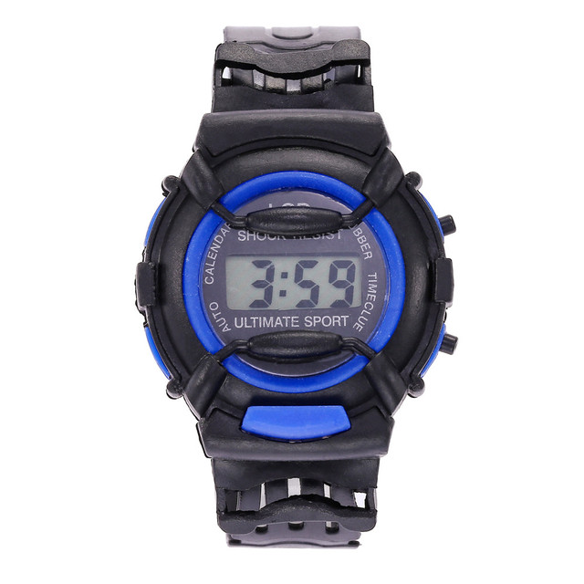 Casual LED Digital Sport Quartz Mens Wrist Watch Fashion Luxury Children Watch F