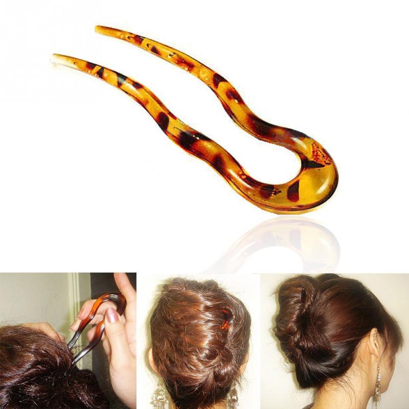 Новинка, модная волшебная Гибкая заколка для волос, пластиковые заколки для волос, заколки для волос, простые заколки для волос, заколки для ...
