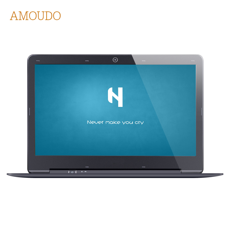 Amoudo 14 inch 4GB Ram 120GB SSD 1TB HDD Intel Pentium Quad Core Windows 7 10