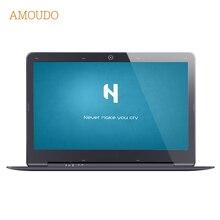 Amoudo 14 дюймов 4 ГБ Ram + 120 ГБ SSD + 1 ТБ HDD Intel Pentium Quad Core Windows 7/10 система Моды Новый Ноутбук Ноутбук
