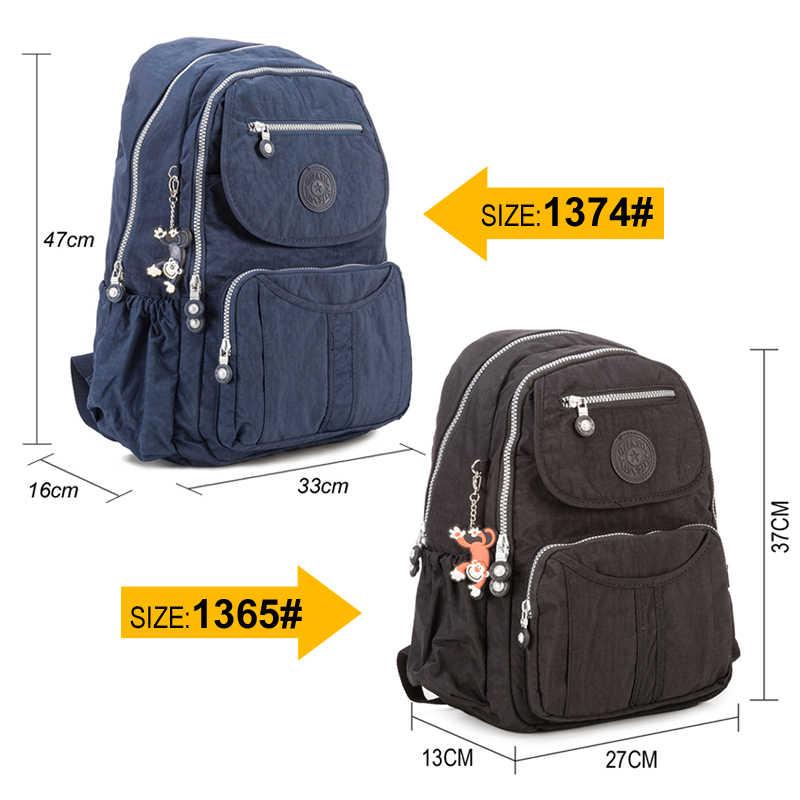 TEGAOTE Grande sacchetto di Scuola Zaino per le Ragazze Adolescenti di grande capacità Zaino Donne Mochila Nylon Fashional del Computer Portatile di Viaggi Bagpack 2020