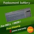 Jigu 6 células bateria do portátil para dell latitude d620 d630 d631 M2300 KD491 KD492 KD494 KD495 NT379 PC764 PC765 PD685 RD300 TC030