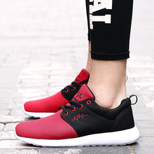 2017 Damping Mens women Running Shoes Breathable Outdoor Walking Sport Shoes New Mens woemn Athletic Sport Sneakers EUR 35-44