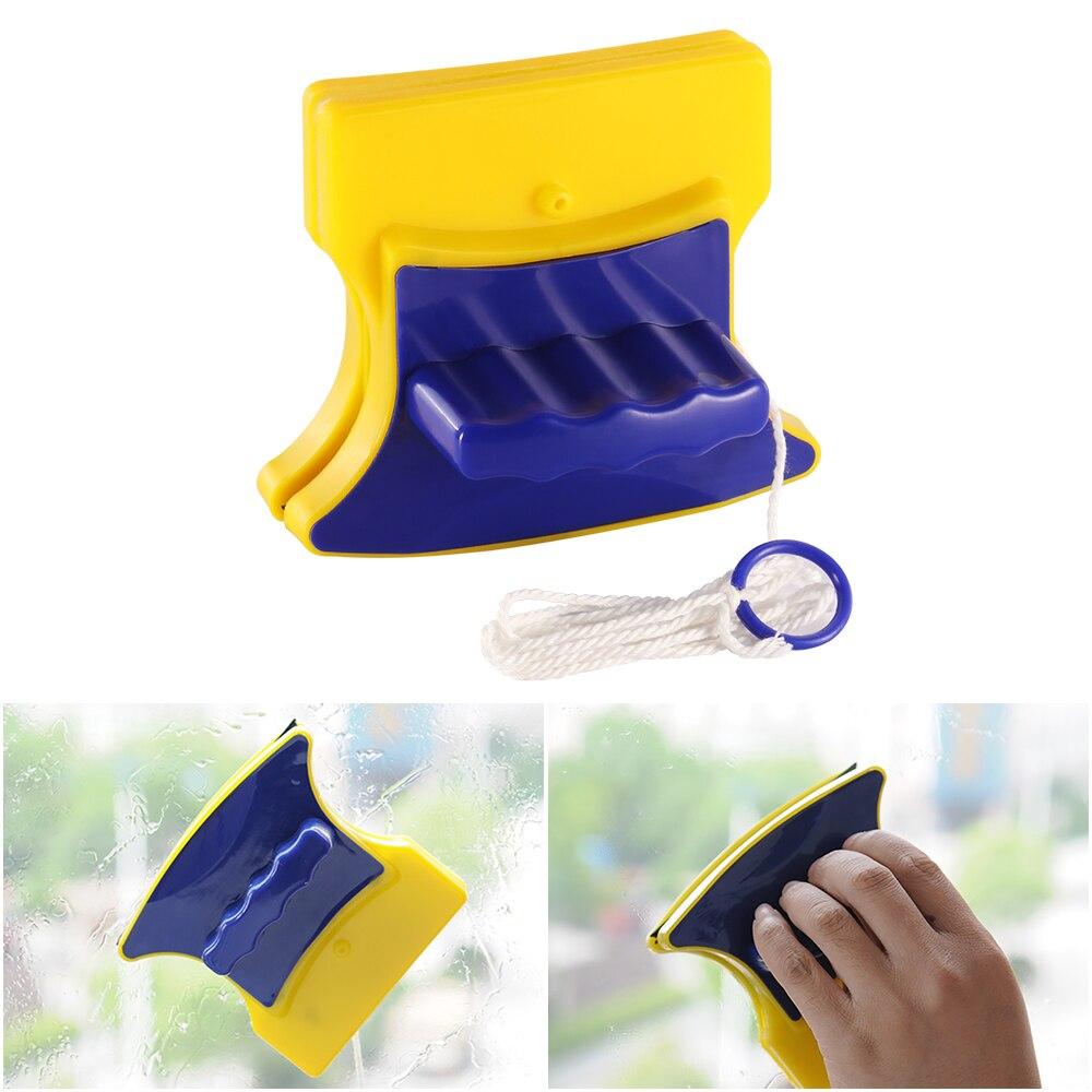 100% Waar Abedoe Dubbelzijdig Vensterglas Magnetische Borstel Venster Dust Remover Huishoudelijke Glasreiniger Ruitenwisser Praktische Schoonmaken Tool