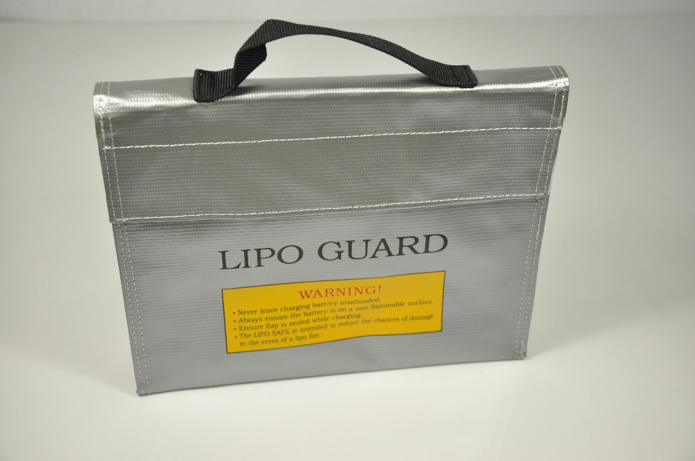Fireproof RC Lipo Guard Battery Safety Bag Carrying Case 23.5*18*6.5cm