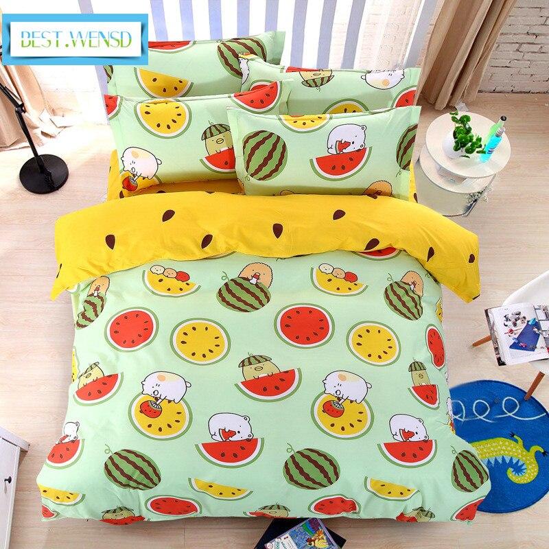 MEILLEUR. WENSD livraison gratuite jacquard Literie twin-set de lit textiles de Maison 3d couverture de lit avec taies d'oreiller couvre-lits et couettes