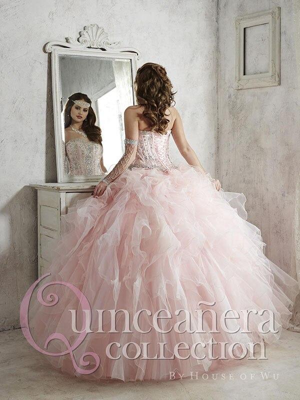 Aliexpress.com : Buy 2016 blush quinceanera dresses ball gown ...