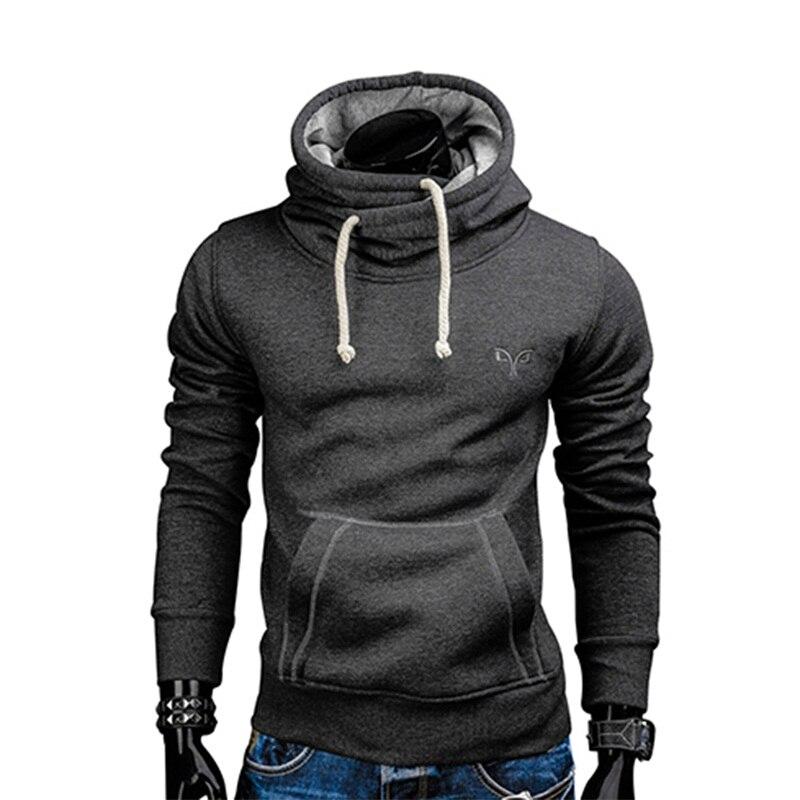 2017 nouveau Mode Printemps automne hip hop sweat à capuche hommes à capuche streetwear pillover survêtement Solide Couleur sportswear Sweat À Capuche