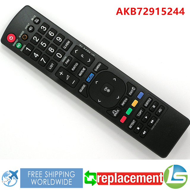 lg remote control. replacement tv remote control akb72915244 for lg lcd led 32ld450 37ld450 42ld450 47ld450 2lv2530 22lk330 lg remote control
