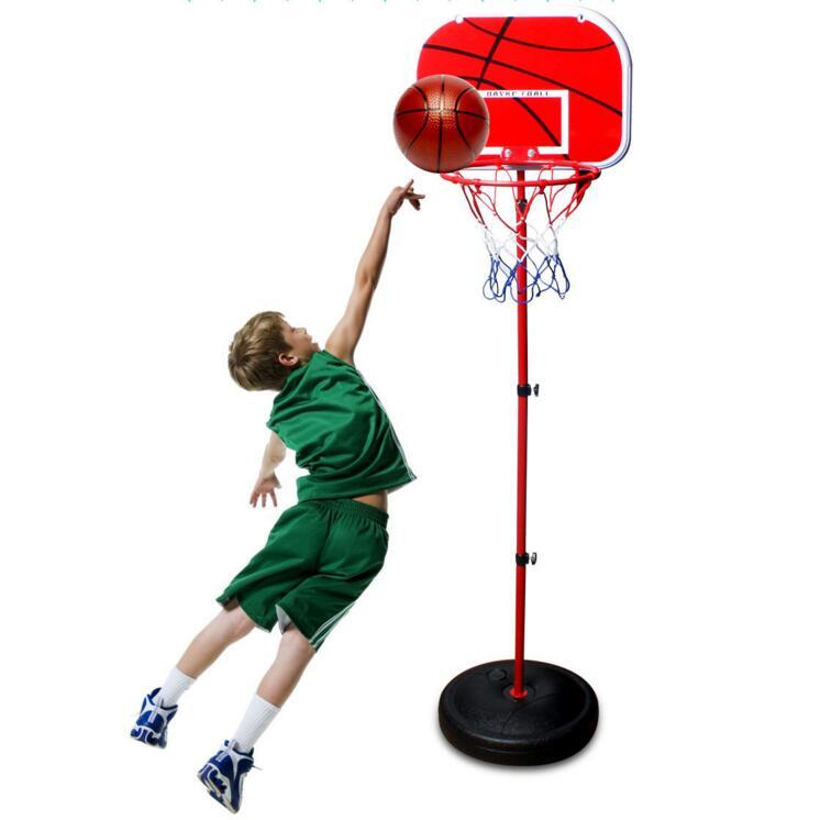 SHINEHENG 150CM enfants surélevé Stand de basket-ball Sport intérieur extérieur enfants jouets en plein air amusement et Sports gonfleur gratuit