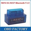 2016 super MINI Bluetooth ELM327 ELM 327 OBD2 V1.5 Frete Grátis