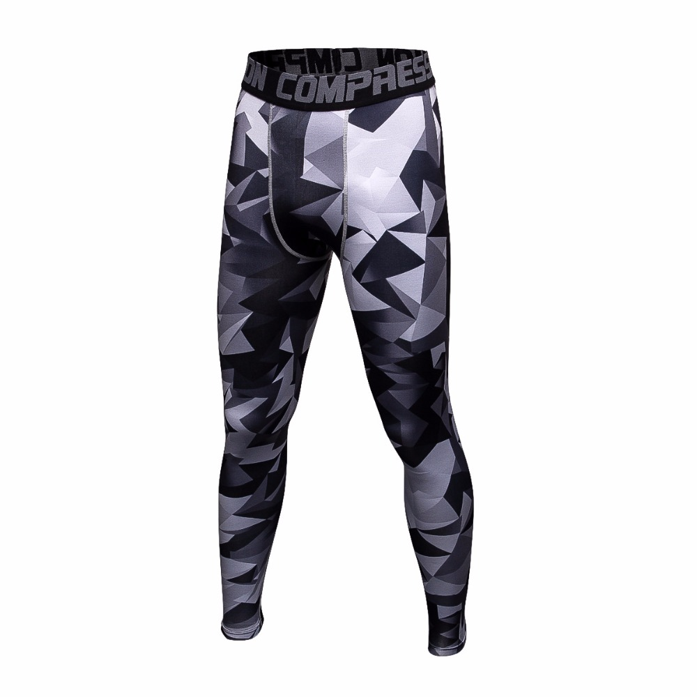 Running tights men compression pants Camouflage fitness stretch quick-drying joggers trousers exercise tight pants sport legging