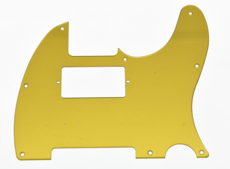 KAISH Gold Mirror  Humbucker Guitar Pickguard Scratch Plate Fits TL Guitar