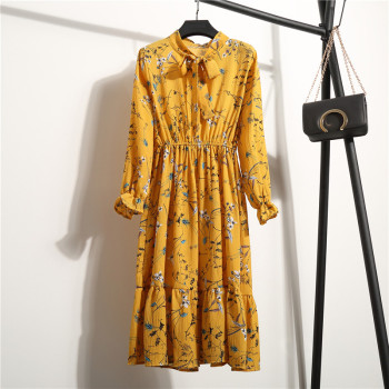 Floral Long Sleeve Dress 1