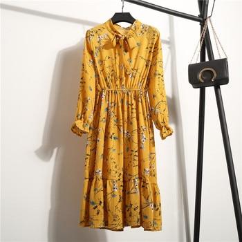 Floral Long Sleeve Dress 1