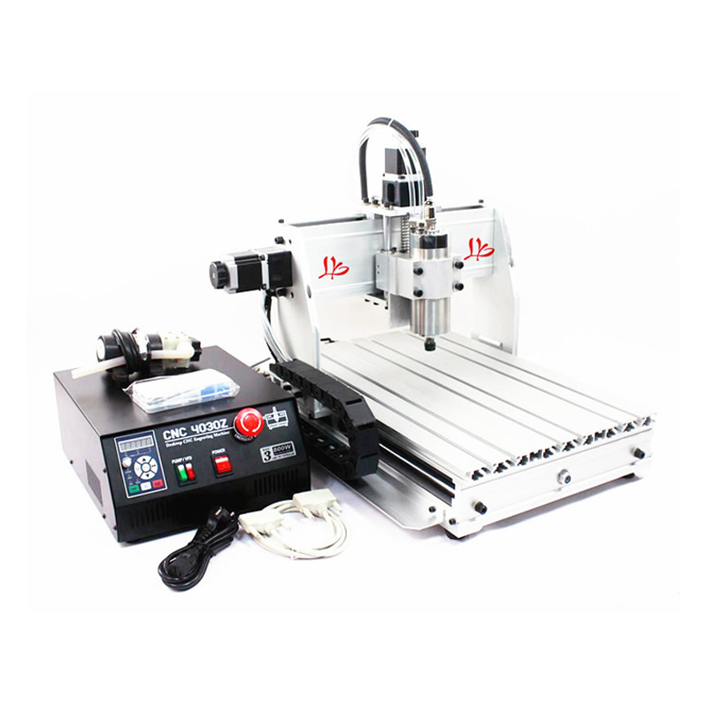 3 Axis CNC 3040 Z-S 800W water cooled CNC milling machine 110v 220v 4 axis 800w usb cnc 3040 water tank cnc router cnc machine milling machine