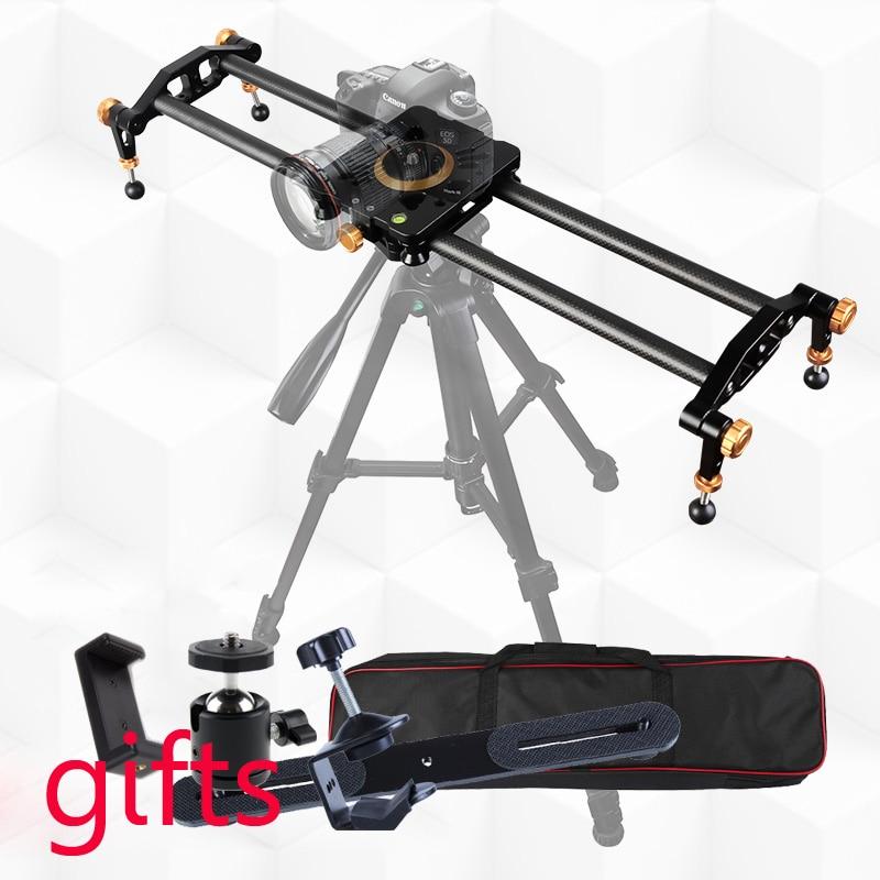 Photo Studio Video Slider Rail Dolly Track Camera Slippery Course 60cm 80cm 100cm 120cm Rail Systems For Canon Sony Nikon DSLR