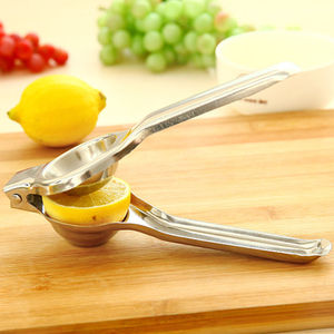 Portable stainless steel lemon