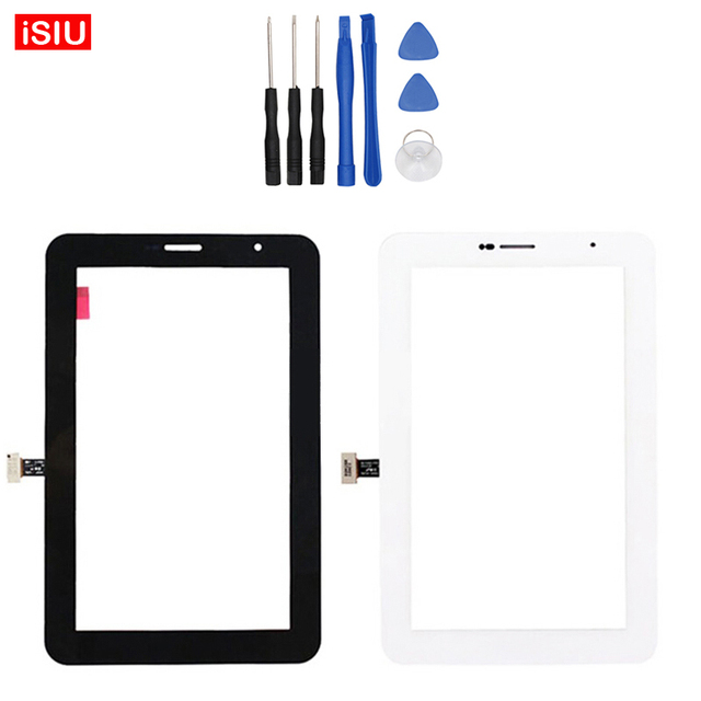 7.0 inch New For Samsung Tab2 Galaxy Tab 2 P3100 / GT-P3100 LCD Touch Screen Lens Glass Outer Front Panel + Tools