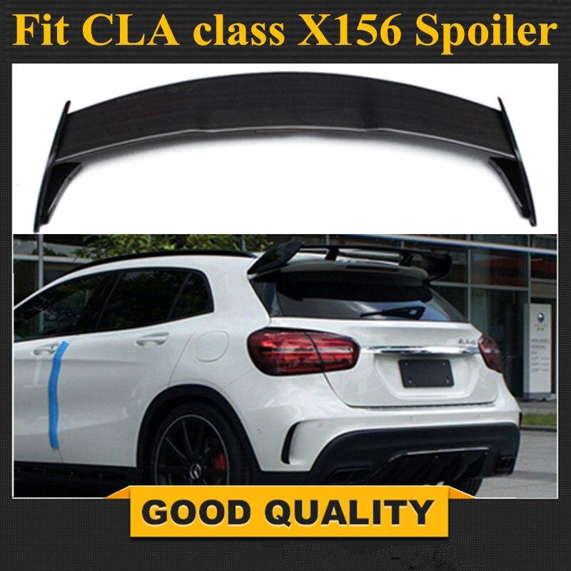 X156 GLA45 AMG Style aile de becquet arrière en Fiber de carbone pour Mercedes GLA classe 2014 + GLA200 GLA250 GLA45 4 portes crossover