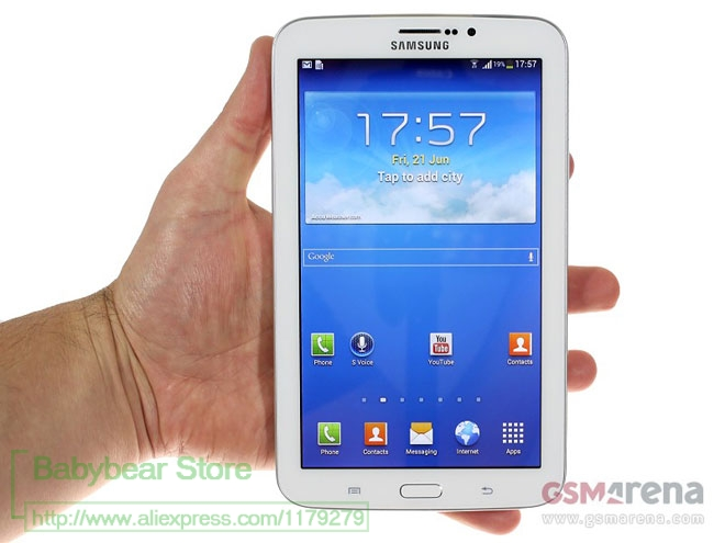 dirt-repellent crystal-clear BROTECT 2x HD-Clear Screen Protector for Samsung Galaxy Tab 3 Lite SM-T116 7.0 hard-coated