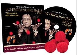 2014 Schrodingers Balls By Rajan -Magic Tricks