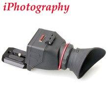 "Kamerar qv-1 lcd vizör için 3 ""-3.2"" canon nikon sony olympus dslr kameralar"