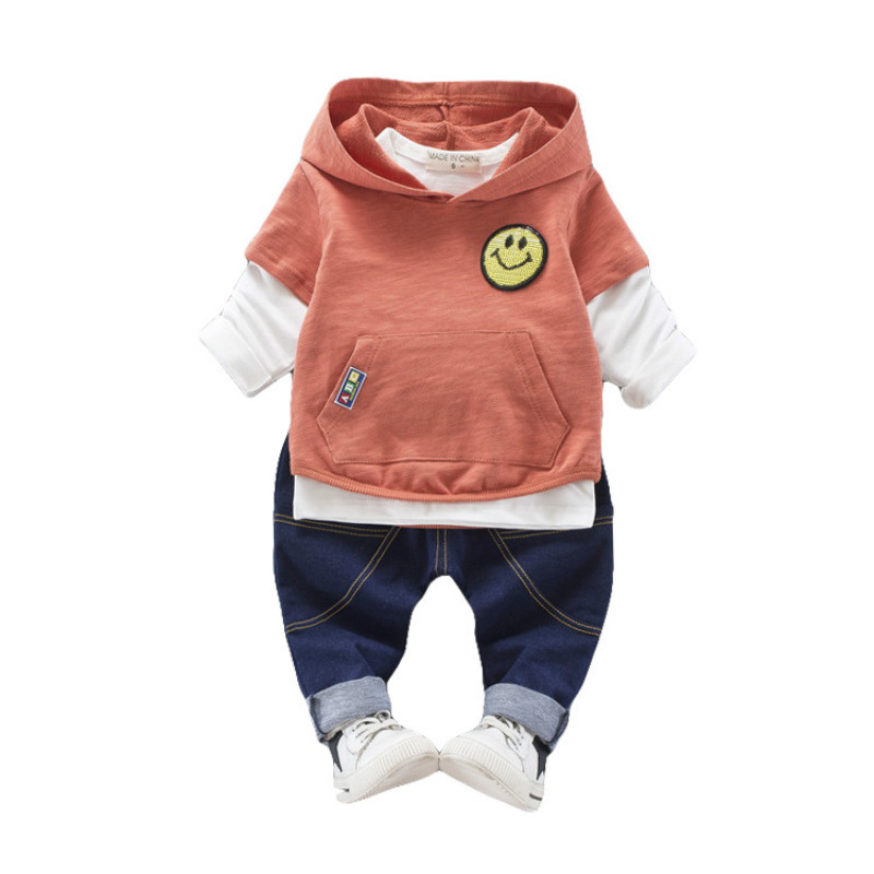 Toddler Tracksuit Autumn Baby Clothing Sets Children Boys Girls Fashion Brand Clothes Kids Hooded  3 Pcs Suits spring autumn kids clothes sets for boys girls hooded sweatshirts pants children gold velvet clothing suits