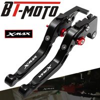 XMAX laser logo Motorcycle Brakes Folding Extendable Clutch Levers For YAMAHA X MAX250 X MAX400 2015 2017 XMAX 250 XMAX 400
