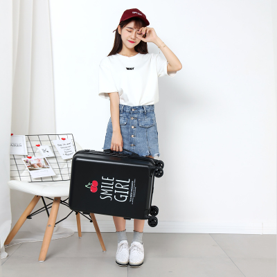 CARRYLOVE Perfect and lovely high quality luggage 20/24 size princess PC Rolling Luggage Spinner brand Travel SuitcaseCARRYLOVE Perfect and lovely high quality luggage 20/24 size princess PC Rolling Luggage Spinner brand Travel Suitcase