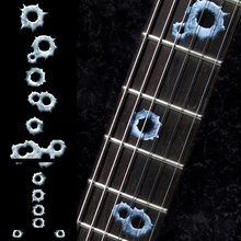 Fretboard Markers Inlay Sticker Decals for Guitar & Bass – Bullet Holes