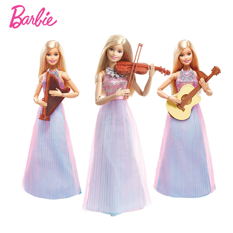Best Barbie Dolls And Toys : Barbie doll violin refresh toys christmas present